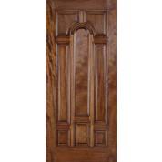 Mahogany Borano Exterior Wood Doors