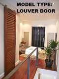 "MAHOGANY LOUVER DOORS (1-3/8"")"