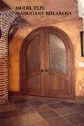 Mahogany Door - Bellarosa