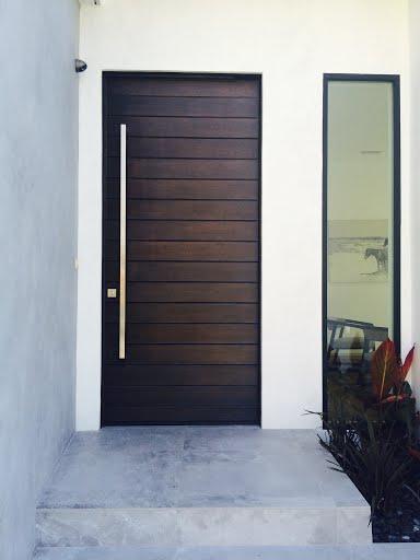 louver Mahogany Doors